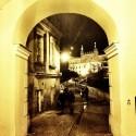 lulbin zamek nocą
