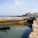 Essaouira, panorama maroko